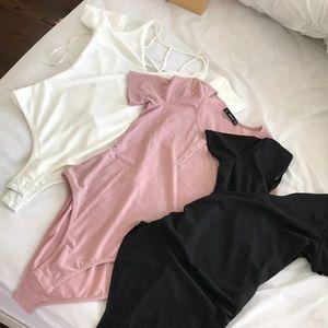 Bundle of NEVER WORN BEFORE three bodysuits!